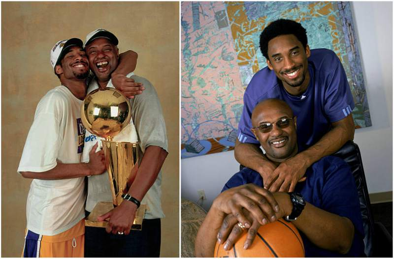 "Kobe Bryant's family - father Joe ""Jellybean"" Bryant"