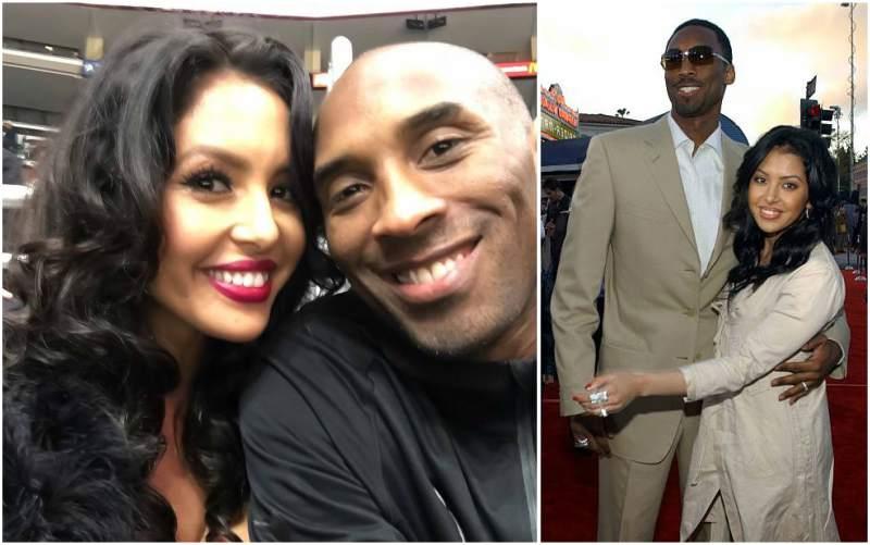 Kobe Bryant's family - wife Vanessa Laine Bryant
