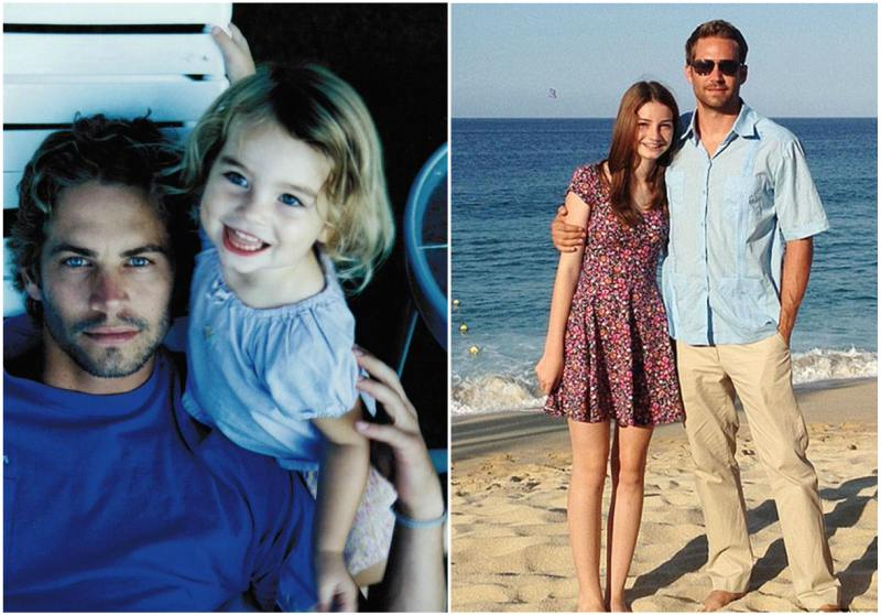 Paul Walker`s children - daughter Meadow Walker