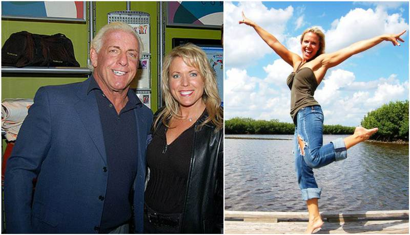 Ric Flair's family - ex-wife Tiffany VanDemark