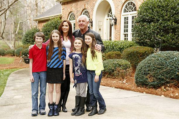 Ric Flair's family - fiancee Wendy Barlow