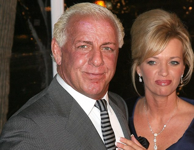 Ric Flair's family - ex-wife Jacqueline Bains Beems