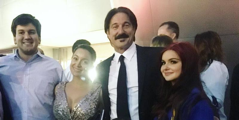 Ariel Winter's family