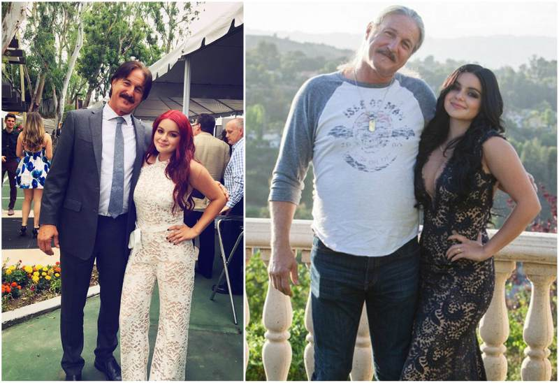 Ariel Winter`s family - father Glenn Workman