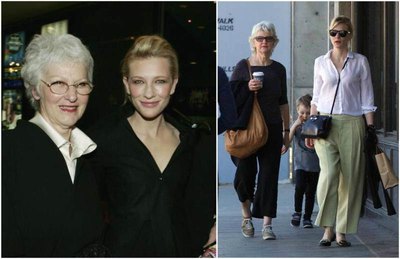 Cate Blanchett`s family - mother June Blanchett