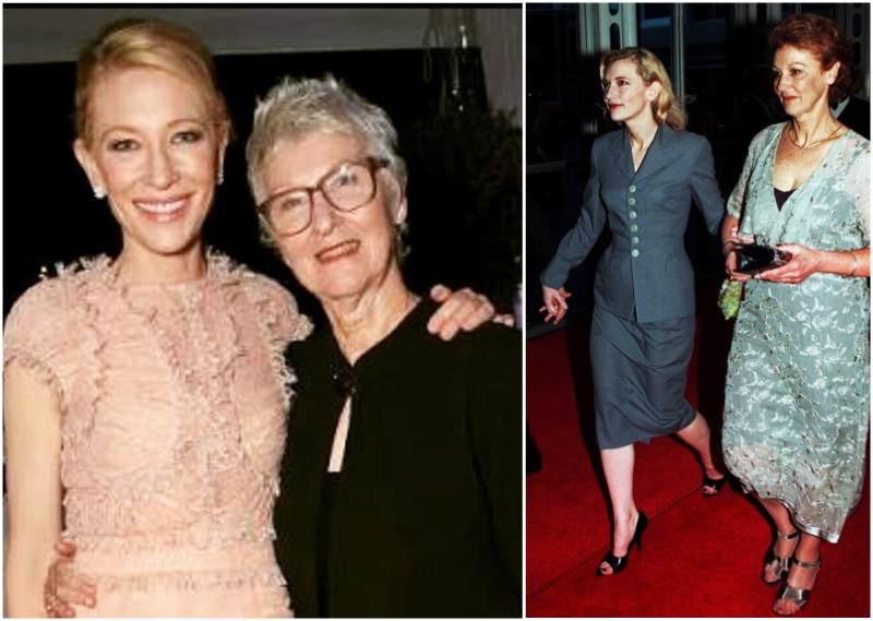 Cate Blanchett`s family - mother June Blanchett