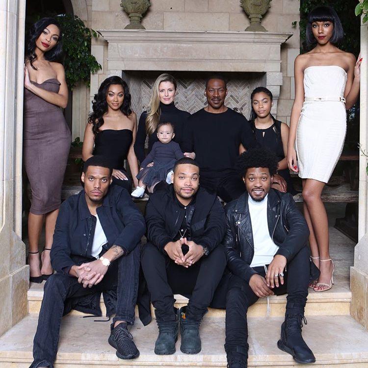 Eddie Murphy's family