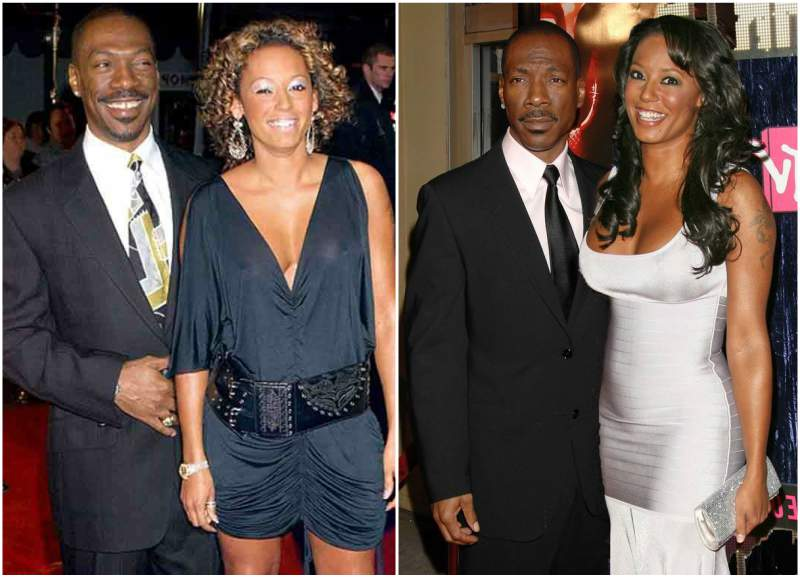 Eddie Murphy's family - ex-girlfriend Mel B