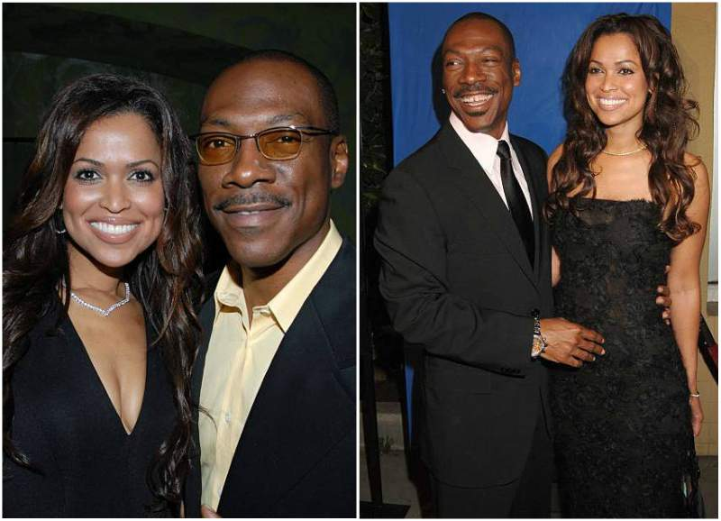 Eddie Murphy's family - ex-girlfriend Tracey Edmonds