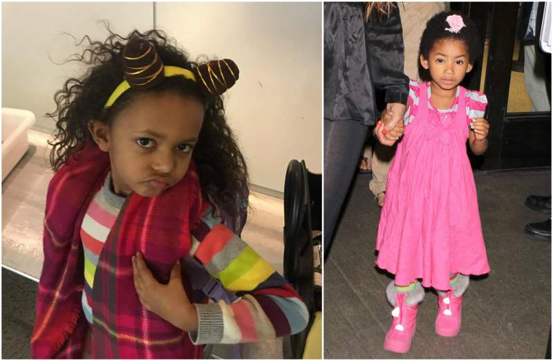 Eddie Murphy's children - daughter Angel Iris Murphy Brown