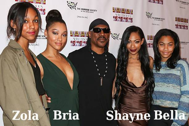 Eddie Murphy's children - daughters
