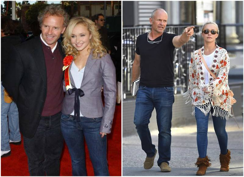 Hayden Panettiere`s family - father Alan Skip Panettiere