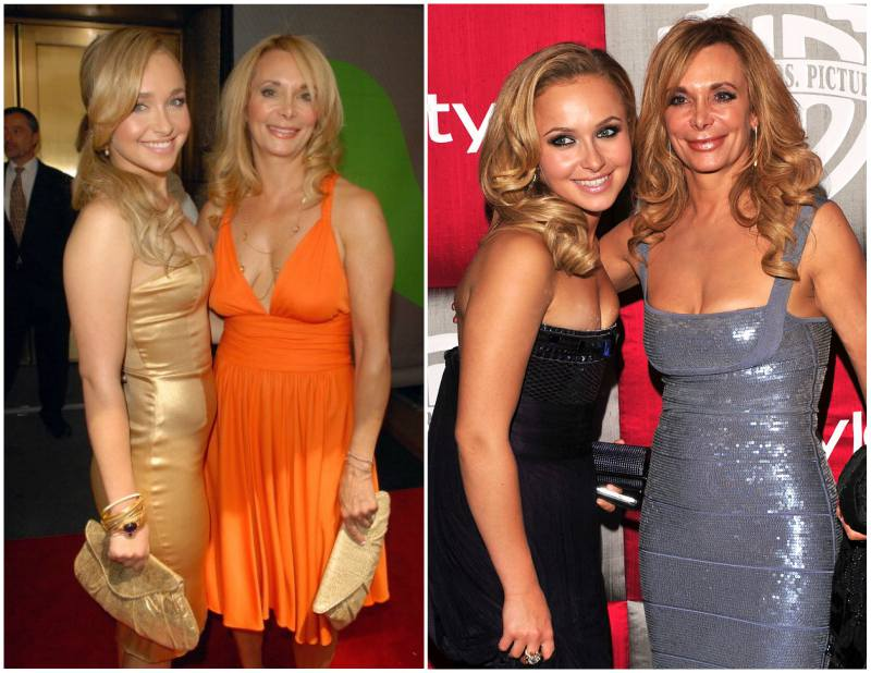 Hayden Panettiere`s family - mother Lesley Vogel