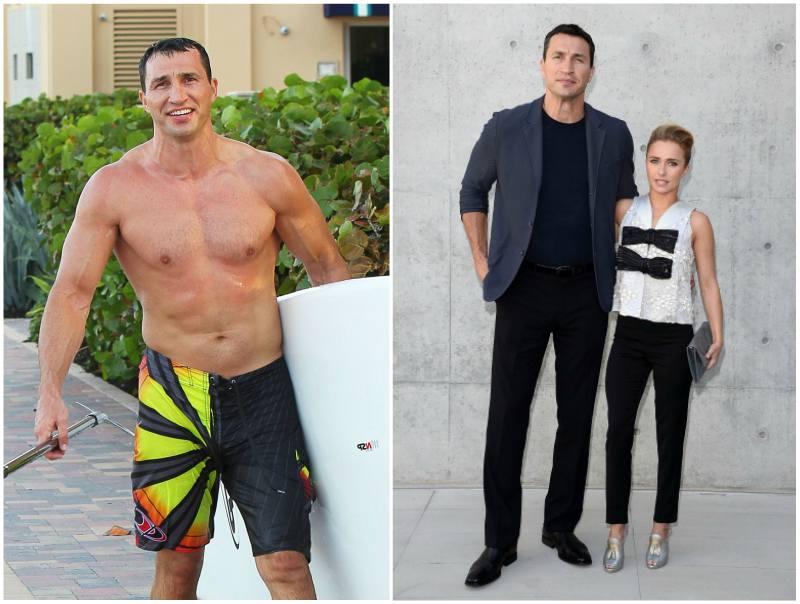 Hayden Panettiere`s family - fiancé Wladimir Klitschko