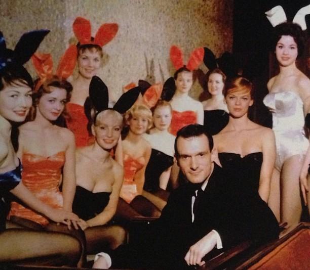 Hugh Hefner's family