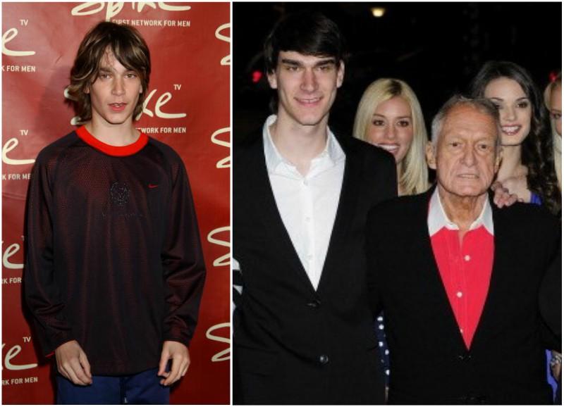 Hugh Hefner's children - son Marston Hefner