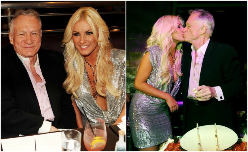 Hugh Hefner's family - wife Crystal Harris
