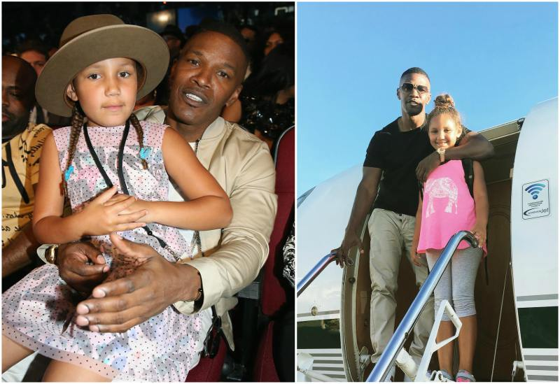 Jamie Foxx's children - daughter Annalise Foxx