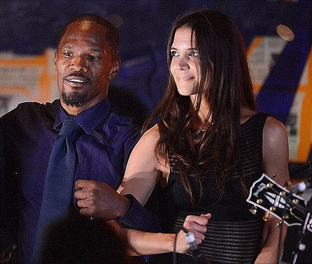 Jamie Foxx's family - ex-girlfriend Katie Holmes