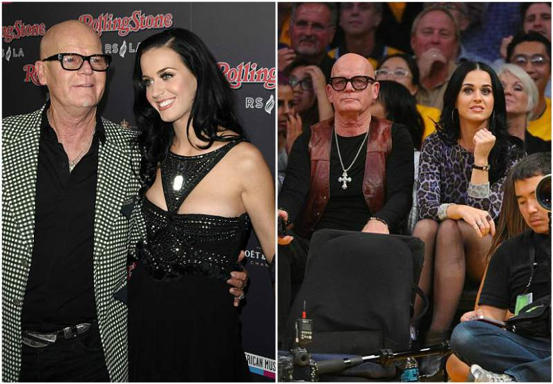 Katy Perry's family - father Maurice Keith Hudson