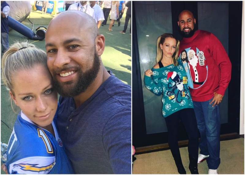 Kendra Wilkinson`s family - husband Hank Baskett III
