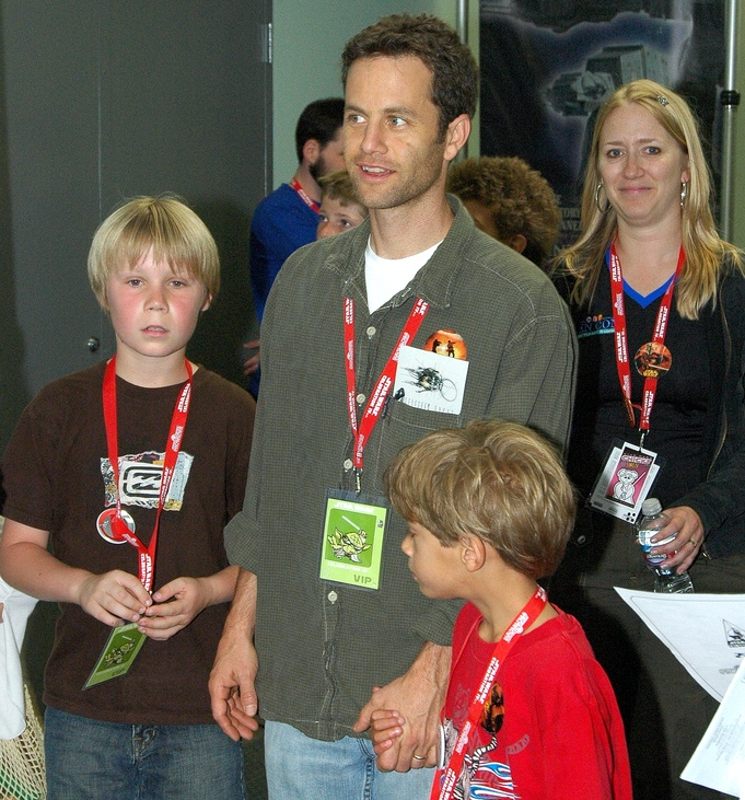 Kirk Cameron's kids - adopted sons