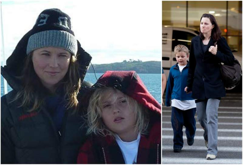 Lucy Lawless' children - son Judah Miro Tapert