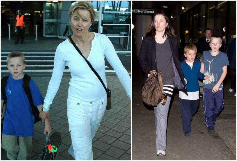 Lucy Lawless' children - son Julius Robert Ray Tapert