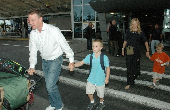 Lucy Lawless' family: husband and children