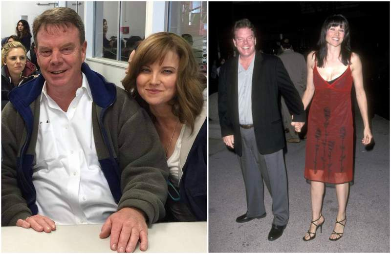 Lucy Lawless' family - husband Robert Gerard Tapert