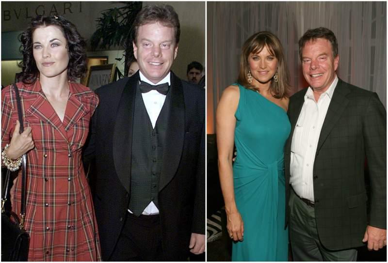 Lucy Lawless' family - husband Robert Gerard Tapert