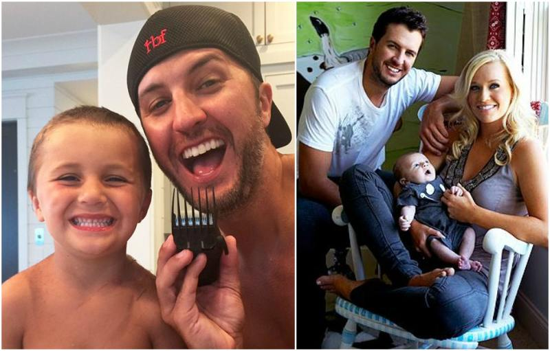 Luke Bryan's children - son Tatum Christopher Bryan