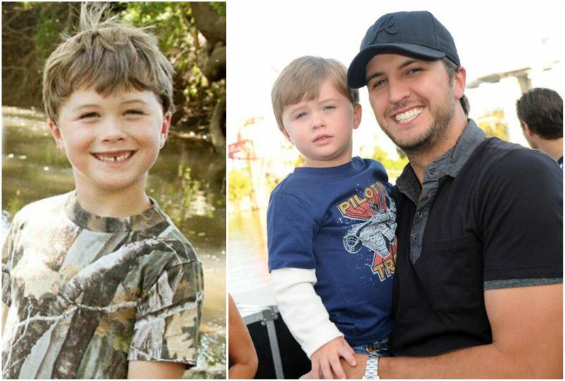 Luke Bryan's children - son Thomas Boyer Bryan