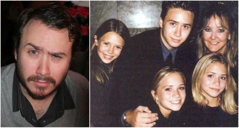 Ashley and Mary-Kate Olsen's siblings - brother James Trent Olsen