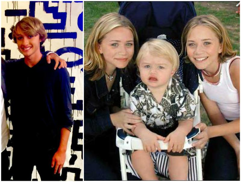 Ashley and Mary-Kate Olsen's siblings - half-brother Jake Olsen