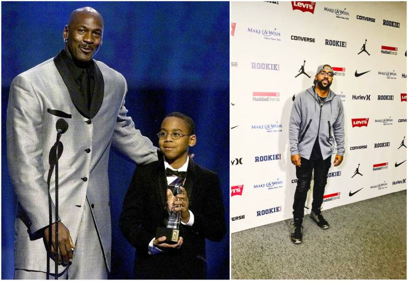 Michael Jordan's children - son Marcus James Jordan