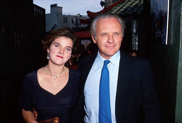Anthony Hopkins' children - daughter Abigail Rhiannedd Hopkins
