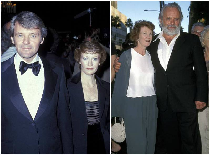 Anthony Hopkins' family - ex-wife Jennifer Lynton