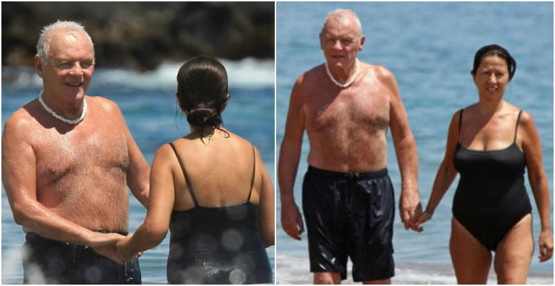 Anthony Hopkins' family - wife Stella Arroyave