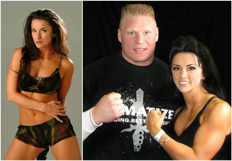 Brock Lesnar's family - ex-girlfriend Nicole McClain