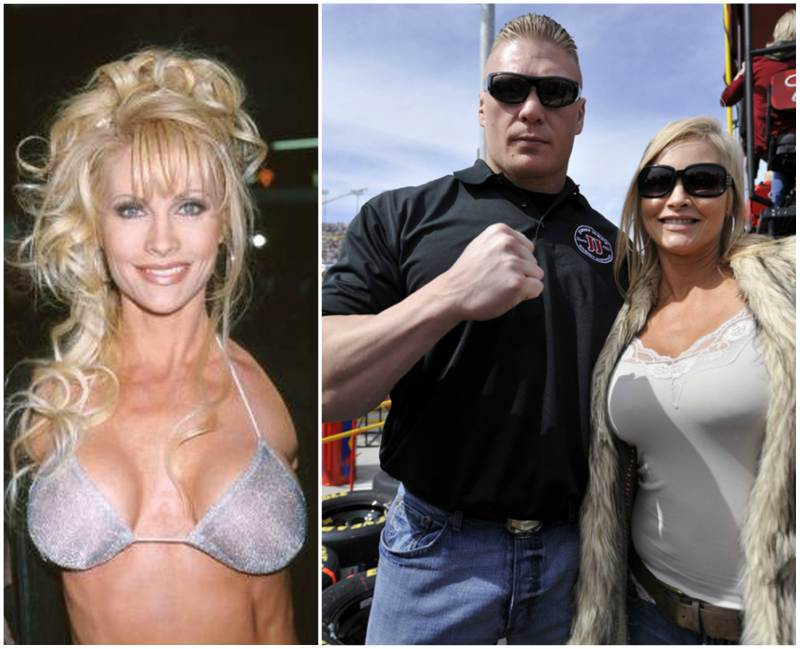 "Brock Lesnar's family - wife Rena ""Sable"" Lesnar"