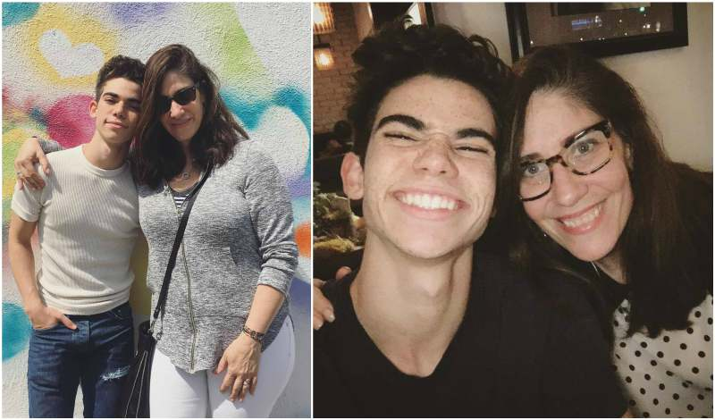 Cameron Boyce's family - mother Libby Boyce