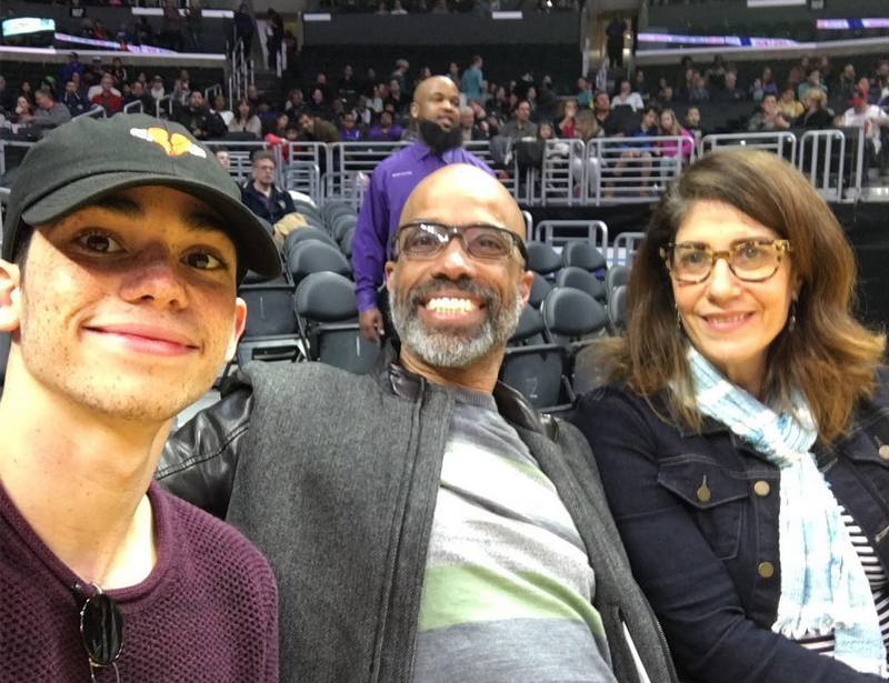 Cameron Boyce's family - parents