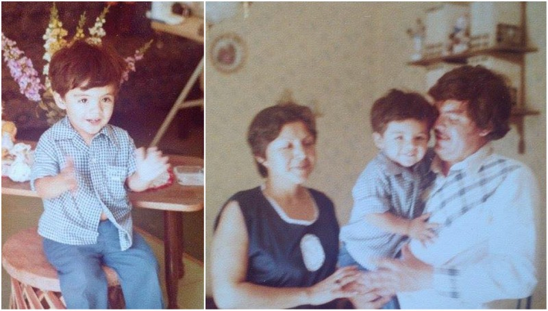 Gabriel Iglesias' family - parents: Jesus Iglesias (father) and Esther P. Mendez (mother)