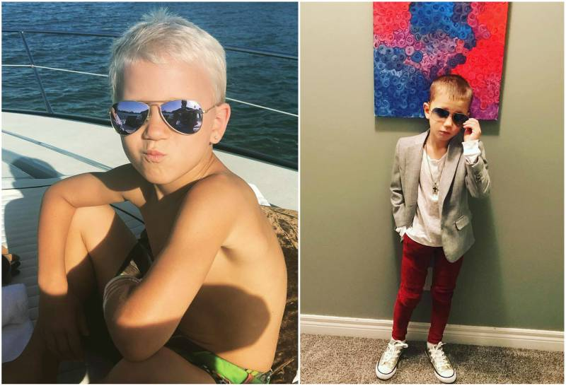 Justin Bieber's siblings - half-brother Jaxon Bieber