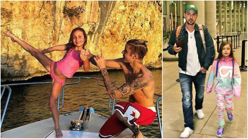 Justin Bieber's siblings - half-sister Jazmyn Bieber
