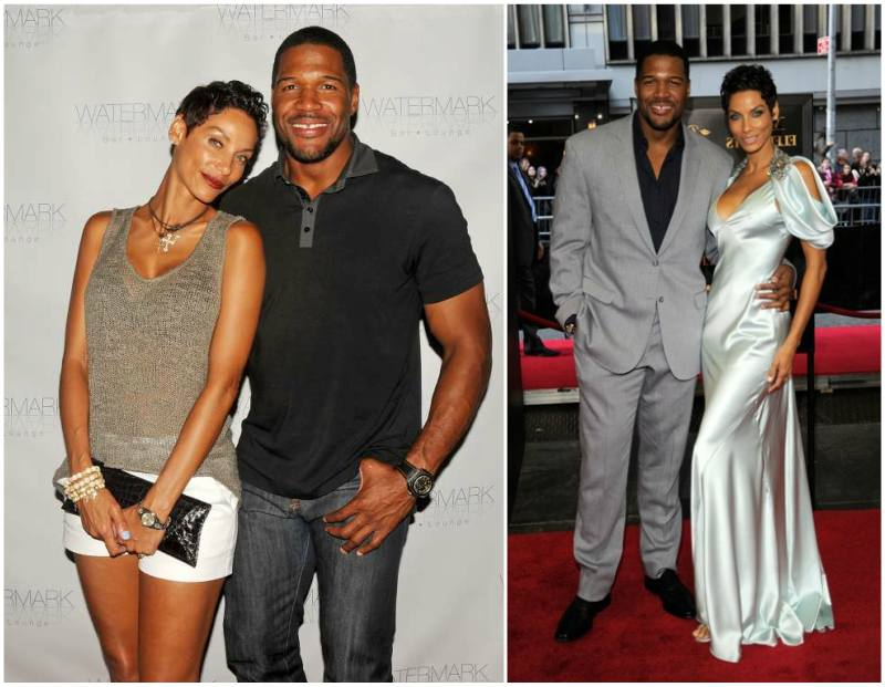 Michael Strahan's family - ex-girlfriend Nicole Murphy