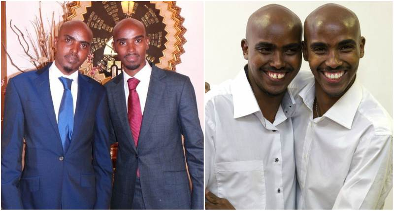 Mo Farah's family - twin brother Hassan