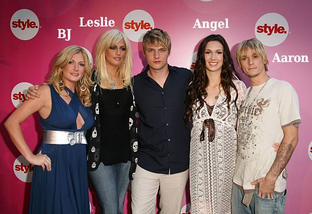 Nick Carter's siblings