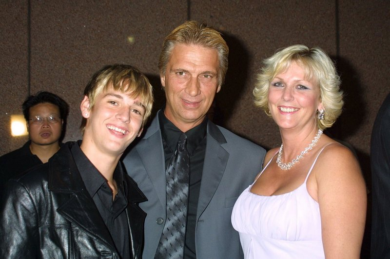 Nick Carter's siblings - brother Aaron Charles Carter